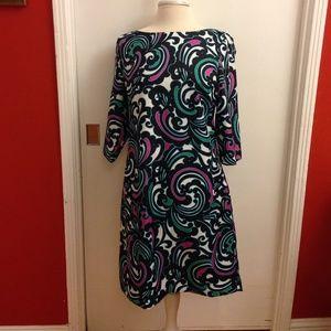 "Banana Republic Print ""Silky"" Dress"